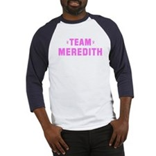 Team MEREDITH Baseball Jersey