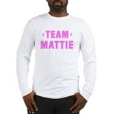 Team MATTIE Long Sleeve T-Shirt