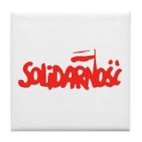 Solidarnosc Tile Coaster