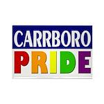 Carrboro Pride (Rectangle Magnet)