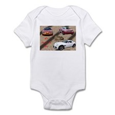 ALL ABOUT THE CARS Infant Bodysuit