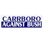 Carrboro Against Bush (bumper sticker)