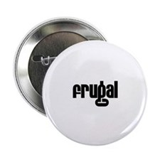 "Frugal 2.25"" Button (10 pack)"