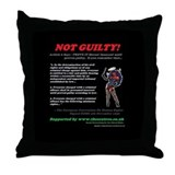 Article 6 Not guilty Throw Pillow