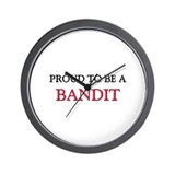 Proud to be a Bandit Wall Clock