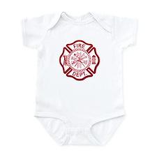 Firefighter Baby Onesie