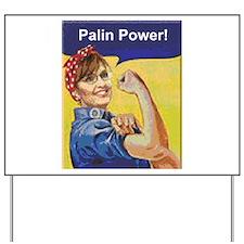 Yard Sign-Palin Power