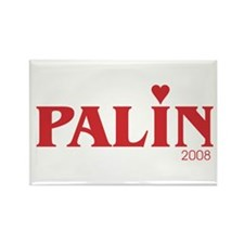 Funny Sarah palin hockey mom Rectangle Magnet (10 pack)