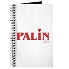 Funny Sarah palin hockey mom Journal