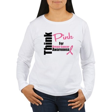 Think Pink Women's Long Sleeve T-Shirt