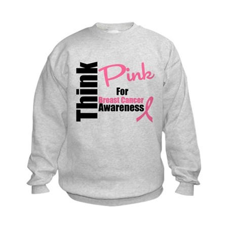 Think Pink Kids Sweatshirt