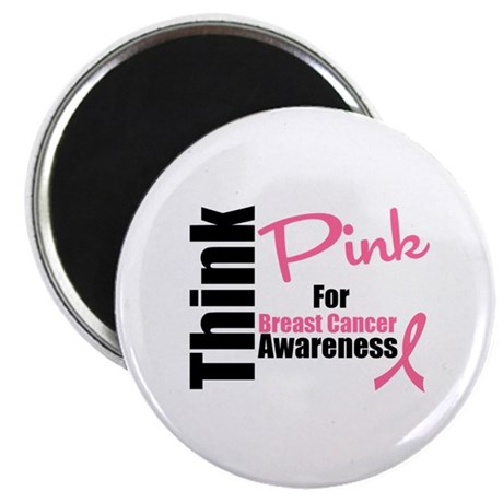 "Think Pink 2.25"" Magnet (10 pack)"