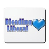 Bleeding Heart Liberal 2 Mousepad