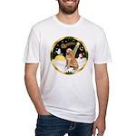 Night Flight/Golen #1B Fitted T-Shirt