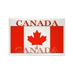 Canada Canadian Flag Rectangle Magnet (100 pack)