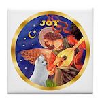 Angel3/Am Eskimo #3 Tile Coaster