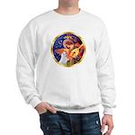 Angel3/Am Eskimo #3 Sweatshirt