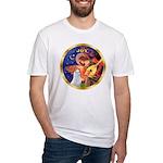 Angel3/Am Eskimo #3 Fitted T-Shirt