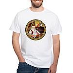 Santa's American Eskimo #5 White T-Shirt