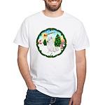 Take Off1/Am Eskimo #5 White T-Shirt