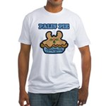 Palin Pie (Moose Berry Pie) Fitted T-Shirt