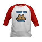 Palin Pie (Moose Berry Pie) Kids Baseball Jersey