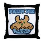 Palin Pie (Moose Berry Pie) Throw Pillow