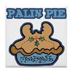Palin Pie (Moose Berry Pie) Tile Coaster