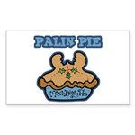Palin Pie (Moose Berry Pie) Rectangle Sticker