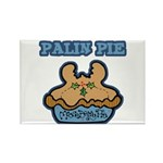 Palin Pie (Moose Berry Pie) Rectangle Magnet (10 p