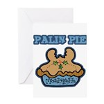 Palin Pie (Moose Berry Pie) Greeting Card