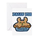 Palin Pie (Moose Berry Pie) Greeting Cards (Pk of