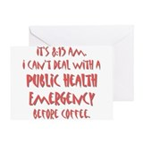 Public Health Emergency Greeting Card
