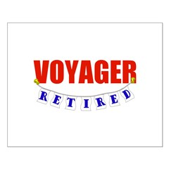 Retired Voyager Small Poster