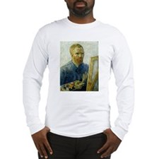 Van Gogh Painter Long Sleeve T-Shirt