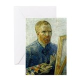 Van Gogh Painter Greeting Card