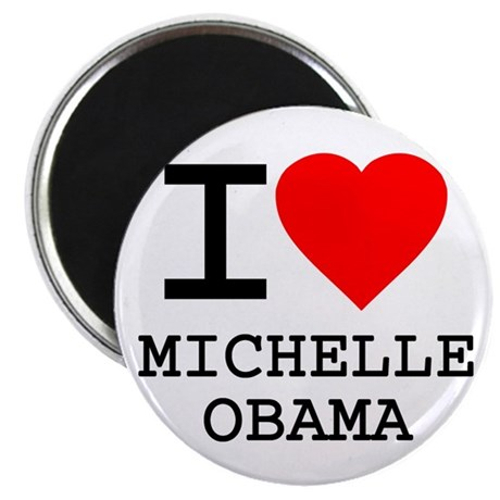 I Love Michelle Obama Magnet