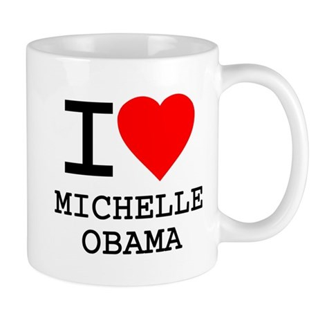 I Love Michelle Obama Mug