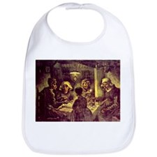 Van Gogh Potato Eaters Bib