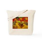 Night Cafe Tote Bag