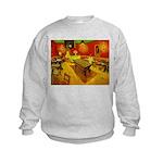 Night Cafe Kids Sweatshirt