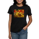 Night Cafe Women's Dark T-Shirt