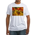 Night Cafe Fitted T-Shirt