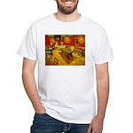 Night Cafe White T-Shirt