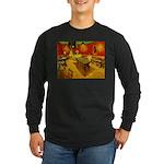 Night Cafe Long Sleeve Dark T-Shirt