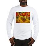 Night Cafe Long Sleeve T-Shirt