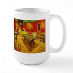 Night Cafe Large Mug