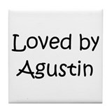 Cute Agustin Tile Coaster