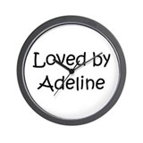 Unique Adeline Wall Clock