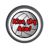 Kiss My Ace! - Wall Clock